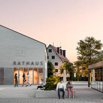 """Realisierungswettbewerb """"Rathaus und Marktplatz"""" Markt Altusried – Anerkennung"""