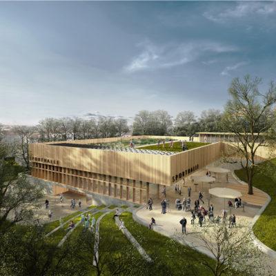 Wettbewerb Dreifachsporthalle mit Parkhaus, Kempten